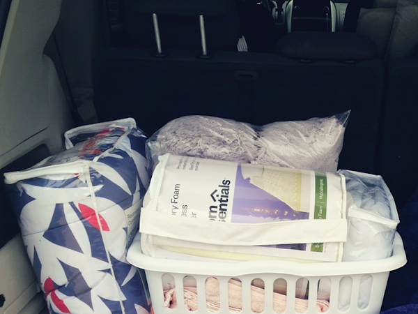 College Series: How to Pack the Car and Survive Move In Day
