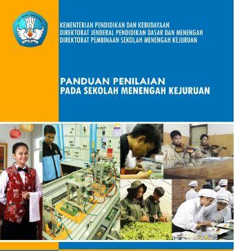 Download Buku Panduan Penilaian Tingkat SMK Tahun Ajaran 2016-2017 Format PDF