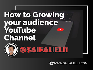 How to Growing your audience YouTube Channel in 2021