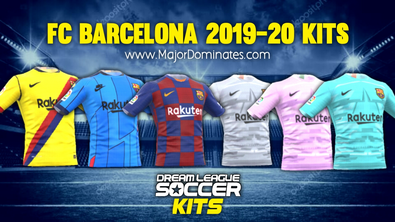 FC Barcelona Kits url 19-20 for Dream League Soccer 2019