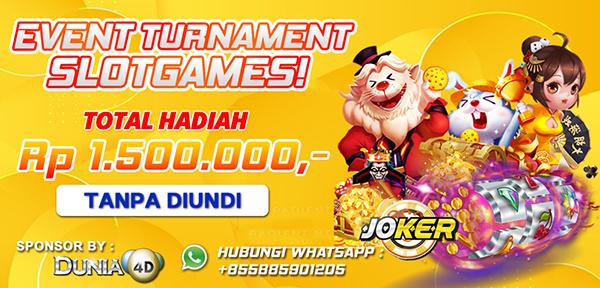 Event Turnamen Slot Dunia4d Berhadiah Jutaan Rupiah