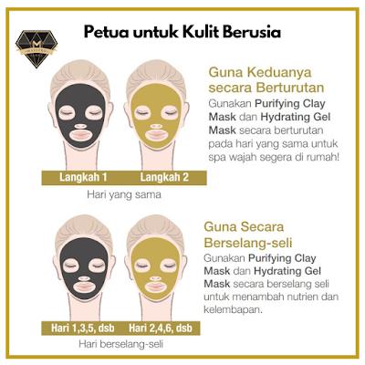 Youth Mask Petua untuk kulit berusia