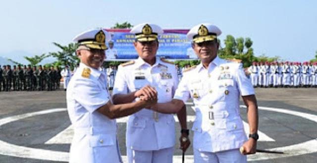 Lantamal II Padang Punya Komandan Baru
