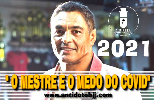 "Rickson Gracie falou no podcast sobre o ""MEDO DO CORONA""."
