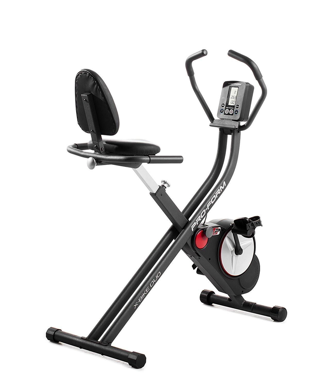 Exercise Bike Zone: ProForm X-Bike Duo Exercise Bike, Review