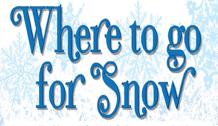 Where to go for Snow #infographic