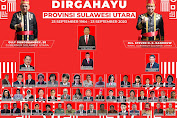HUT Provinsi ke - 56. Banyak Prestasi Yang Dicetak Gubernur Olly Dondokambey dan Wagub Steven Kandouw