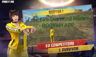 Free Fire Diamond Hack BOOYAH App