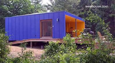 Modelo de casa modular Weehouse de Estados Unidos