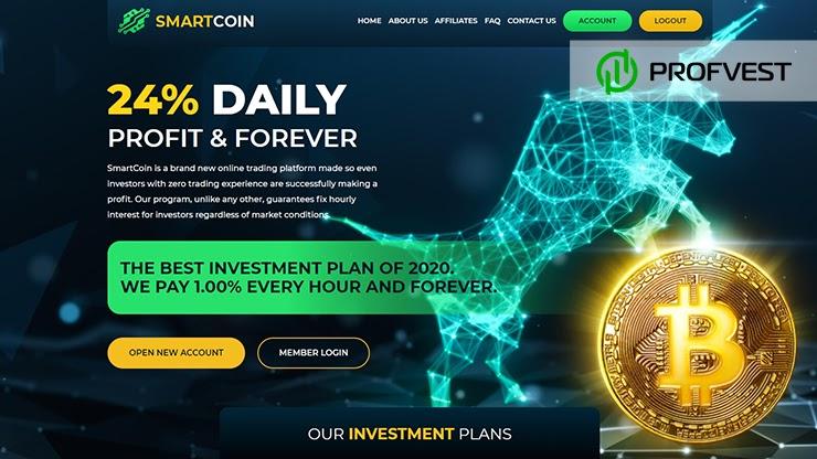 SmartCoin обзор и отзывы HYIP-проекта