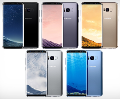Samsung Galaxy S8 Color