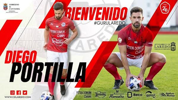 Oficial: CD Laredo, firma Diego Portilla
