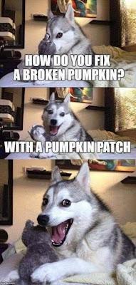 How to fix a pumpkin...