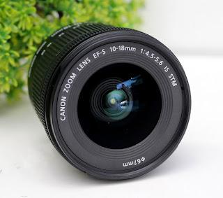Lensa Wide Canon 10-18 STM Bekas