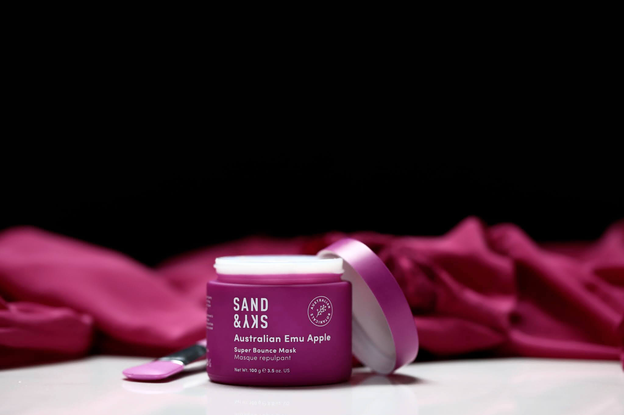 Sand Sky Ausralian Emu Pomme Masque Repulpant