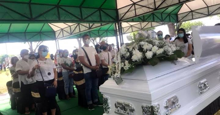 Christine Dacera was laid to rest
