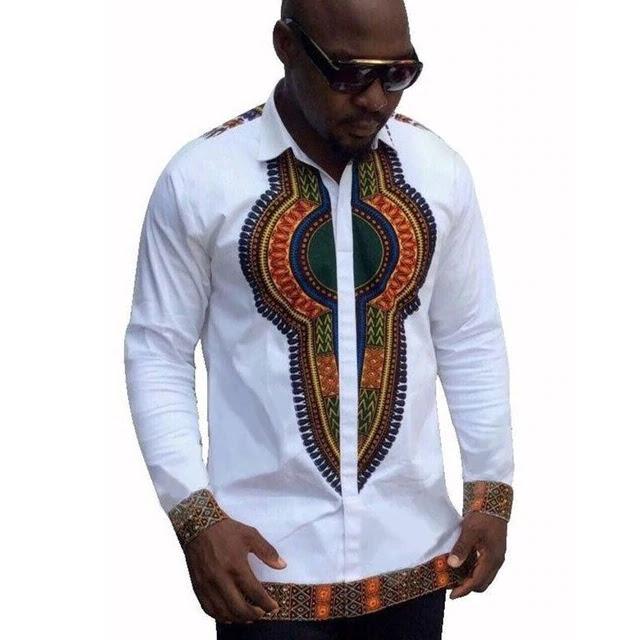 Mode, tendance, Tee-Shirt, style, look, Vêtement, ethnique, traditionnel, tissu, wax, bazin, manches, courtes, longues, Dashiki, chemise, imprimé, LEUKSENEGAL, Dakar, Sénégal, Afrique