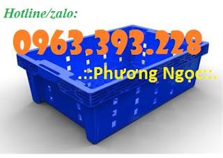 Sóng cá, rổ đựng hải sản, sọt trưng bày hàng hóa Thung-nhua-rong-hs002_result