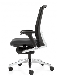 G20 chair with leather seat
