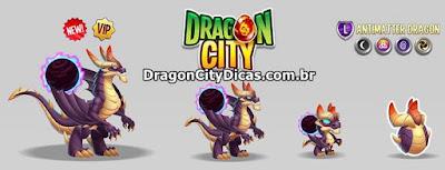 Um Dragão com os elementos mais fortes do jogo!