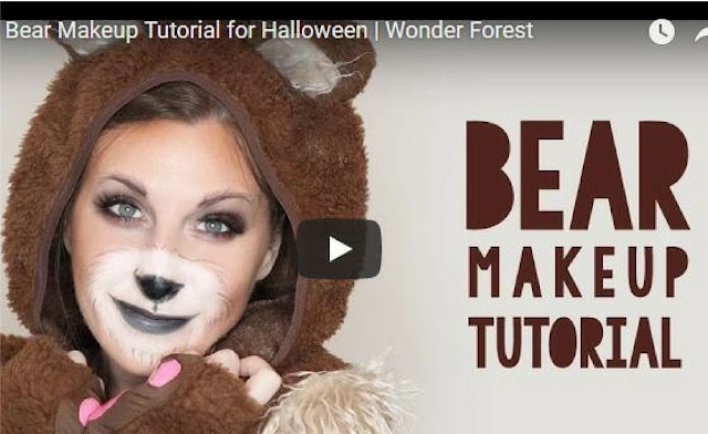 Amazing Halloween makeup tutorials | via @arelaxedgal