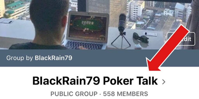 Facebook poker group