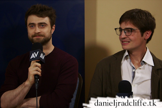 The A.V. Club interviews Daniel Radcliffe and Simon Rich at the TCA Winter press tour