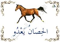الحصان يعدو