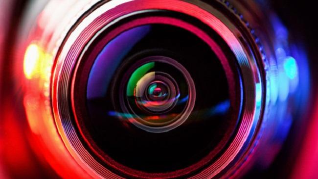 Lente de câmera/Reprodução