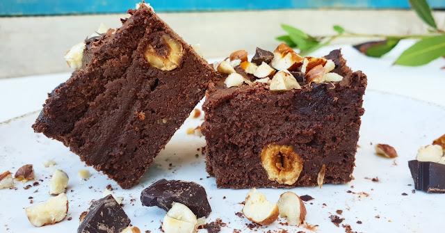 gâteau fondant au chocolat façon brownie