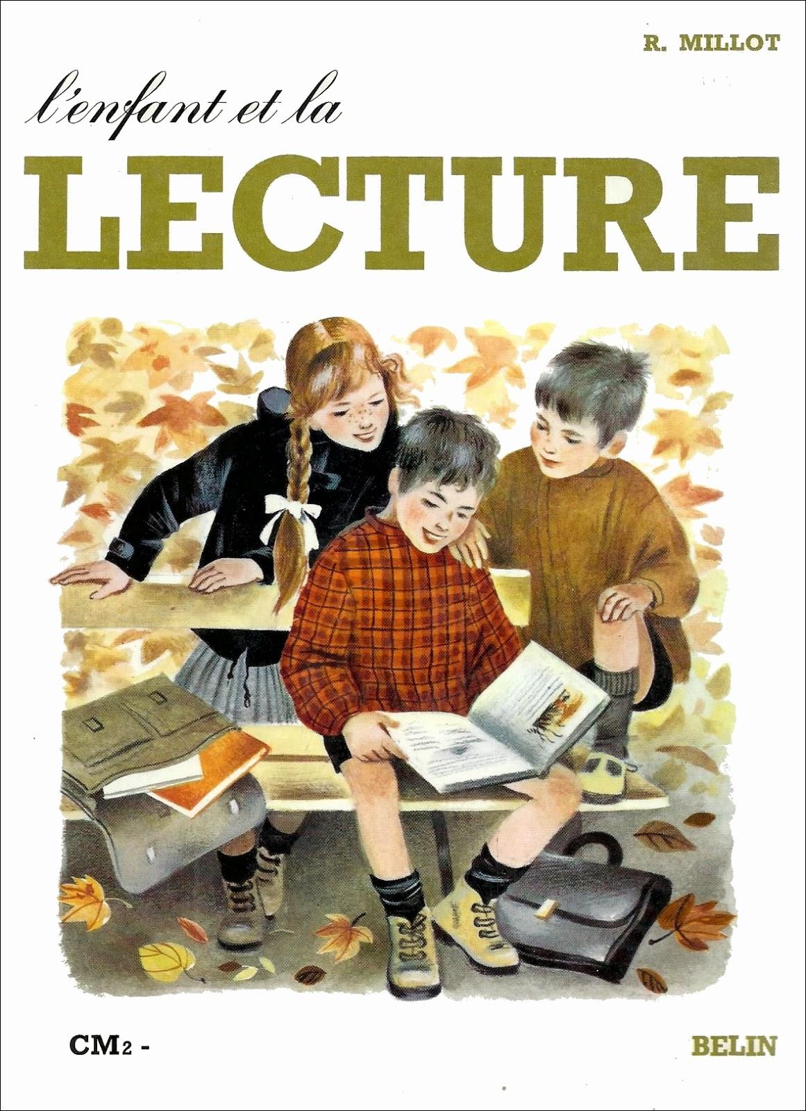 manuels anciens r millot l 39 enfant et la lecture cm2 1968. Black Bedroom Furniture Sets. Home Design Ideas