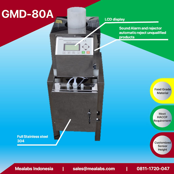 GMD-80A Gravity Fall Metal Detector