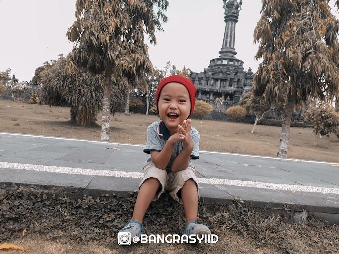 Serunya Main di Lapangan Bajra Sandhi Renon Denpasar Bali