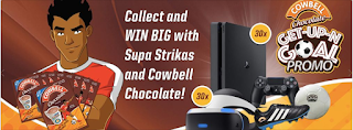 Cowbell Chocolate Get-Up-N Goal Promo 2019 | Win Big Prizes