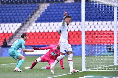 ملخص واهداف مباراة باريس سان جيرمان وانجيه (5-0) كاس فرنسا