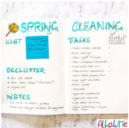 14 فكرة bullet journal رائعة تساعدك على تنظيم يومك