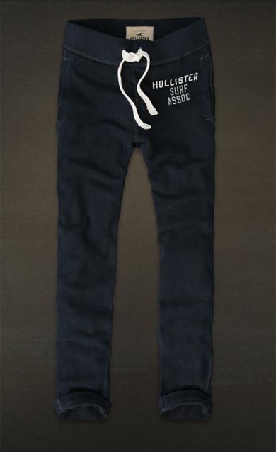 colores y llamativos estilo de moda de 2019 guapo Pantalones de chándal skinny de Hollister - Un tipo con ...
