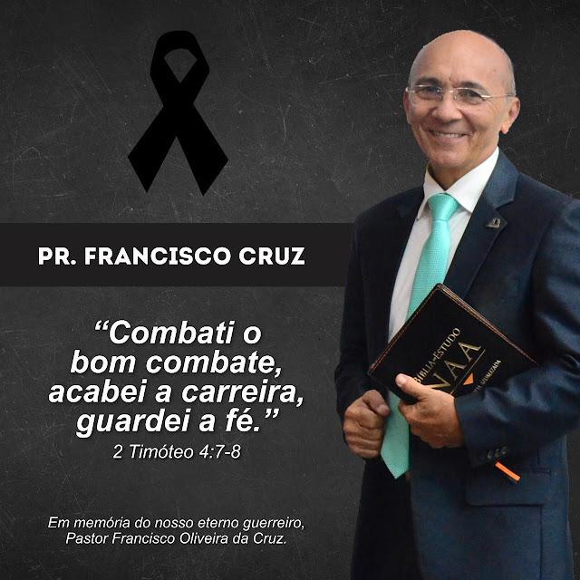 Pastor da Assembleia de Deus em Rio Branco morre vítima de complicações da Covid-19