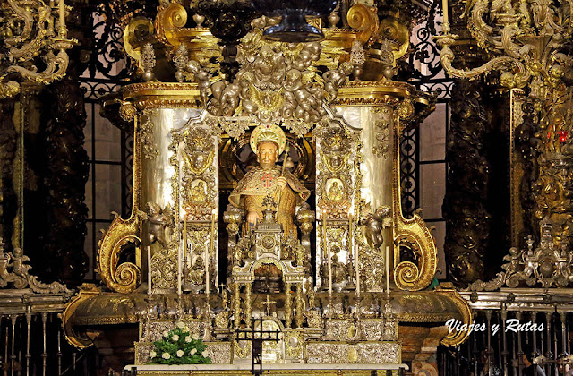 Apóstol Santiago, catedral de Santiago de Compostela