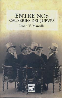 Entre Nos Libro I – Lucio V. Mansilla