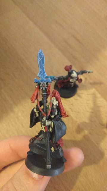 shane hoyle eldar warlock 2011 painted