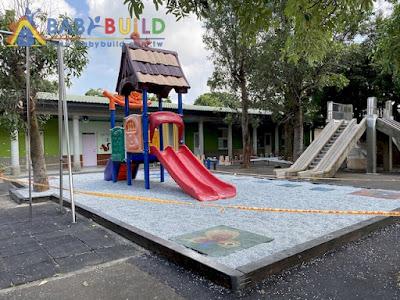 桃園市觀音區新坡國小附設幼兒園戶外遊戲器材安全地墊整修採購