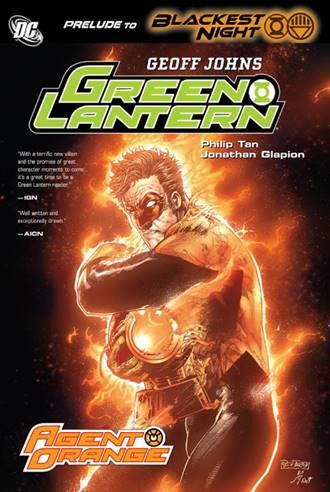 Hal Jordan se convierte en un Orange Lantern