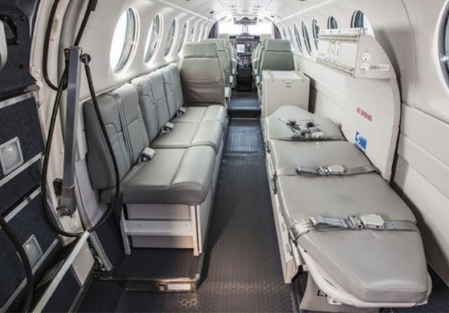Beechcraft King Air 350ER interior