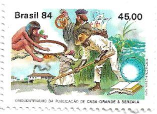Selo 50 anos de Casa Grande & Senzala