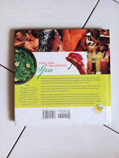 Cover Belakang Buku Cantik Sehat & Sukses Berbisnis Spa
