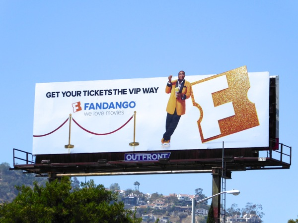 Fandango Get tickets VIP way Miles Mouvay billboard