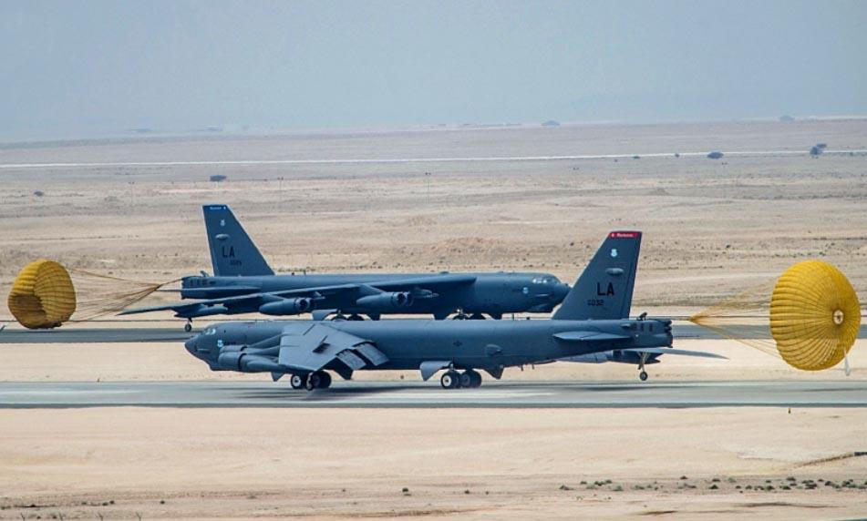 B 52 Carpet Bombing B-52 deployment to the...