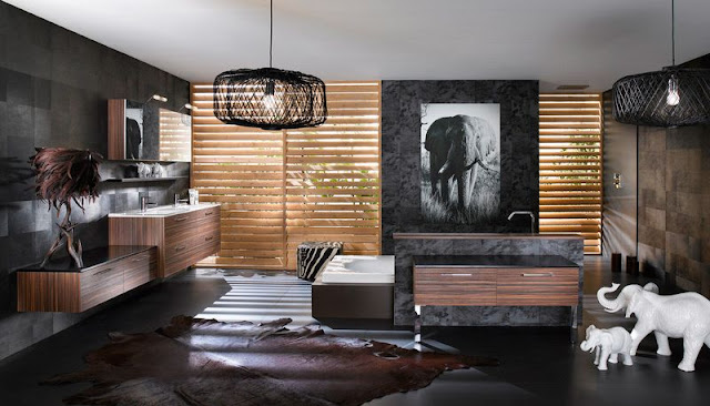 Dressing Room With Bathroom Design