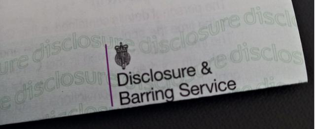 A DBS certificate